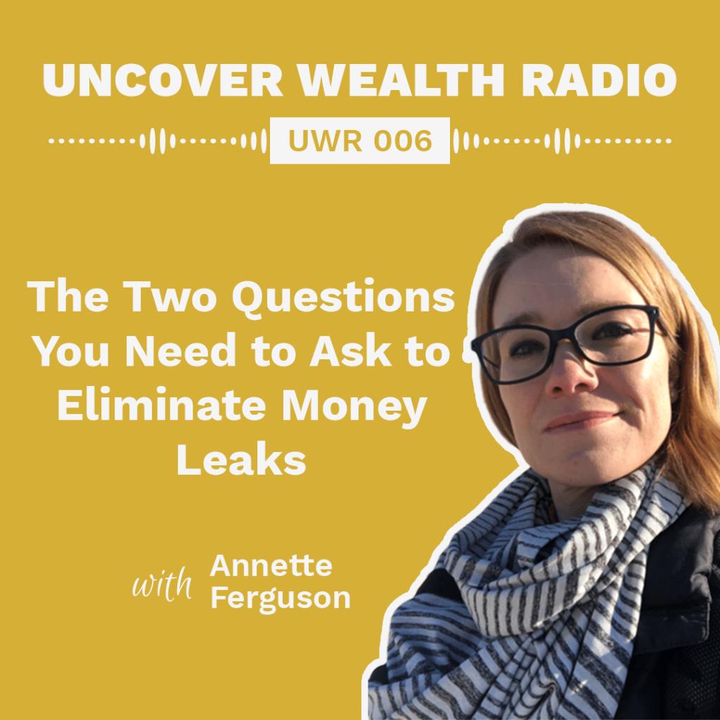 Annette Ferguson Podcast Banner - UWR 006