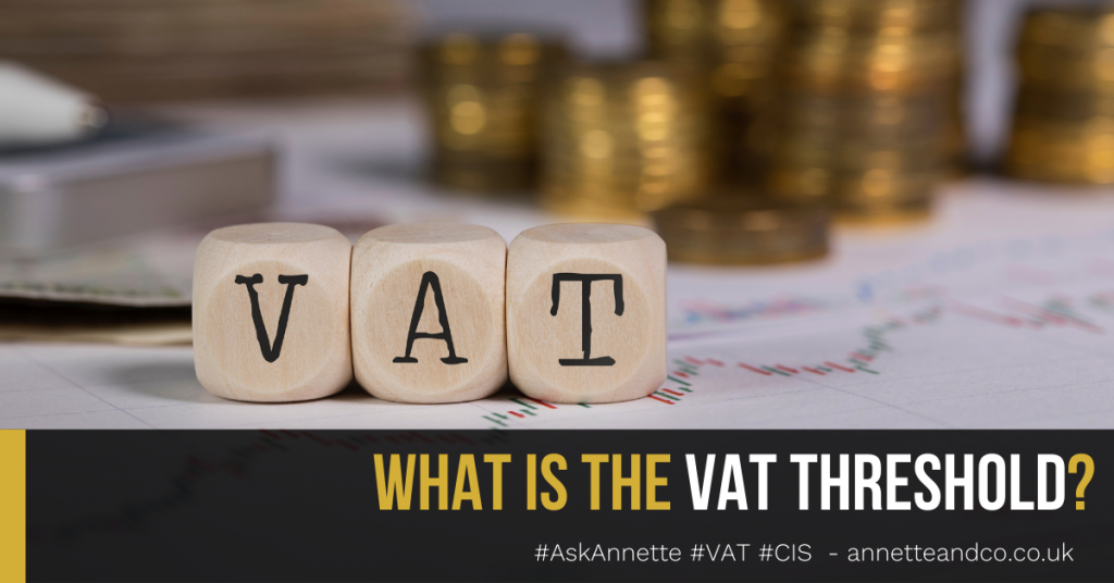 a blog featured image entitled What is the VAT Threshold?