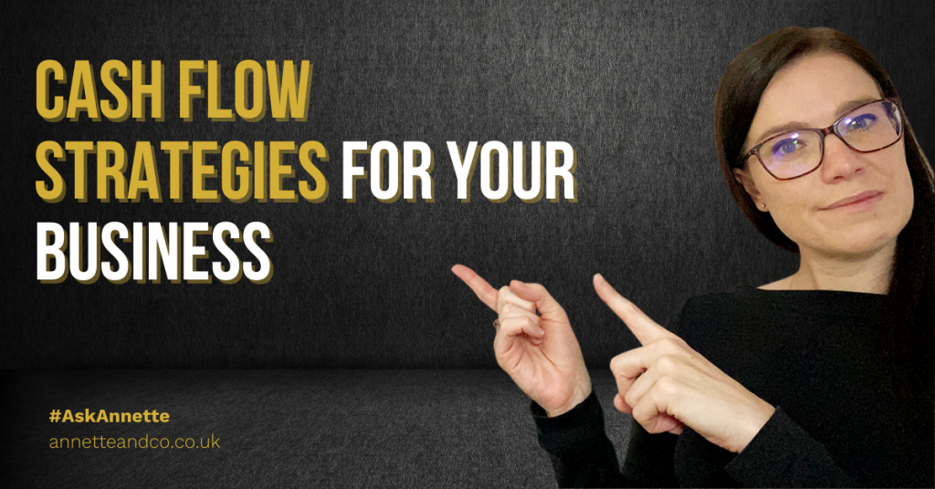 a blog featured image entitled 10 Cash Flow Strategies to Adapt for Your Business
