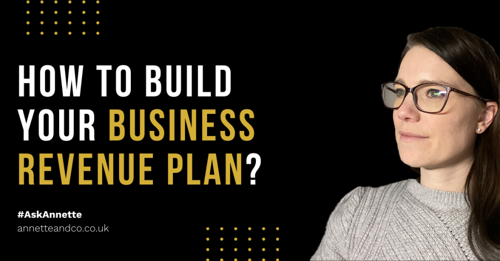 a blog featured image entitled about How To Build Your Business Revenue Plan?