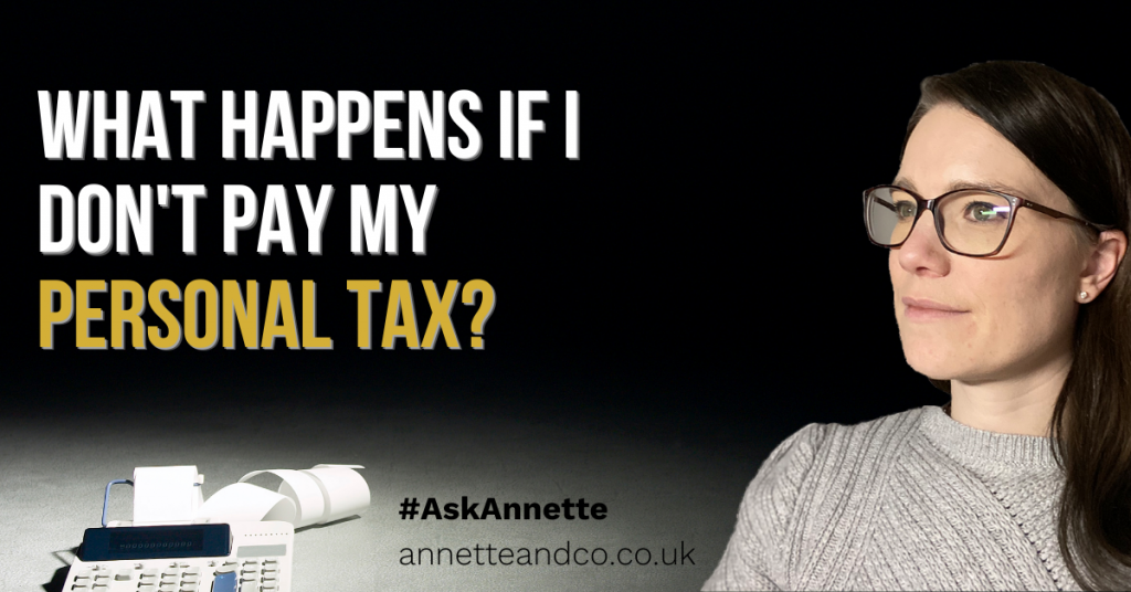 a blog featured image entield What Happens if I Don't Pay My personal tax
