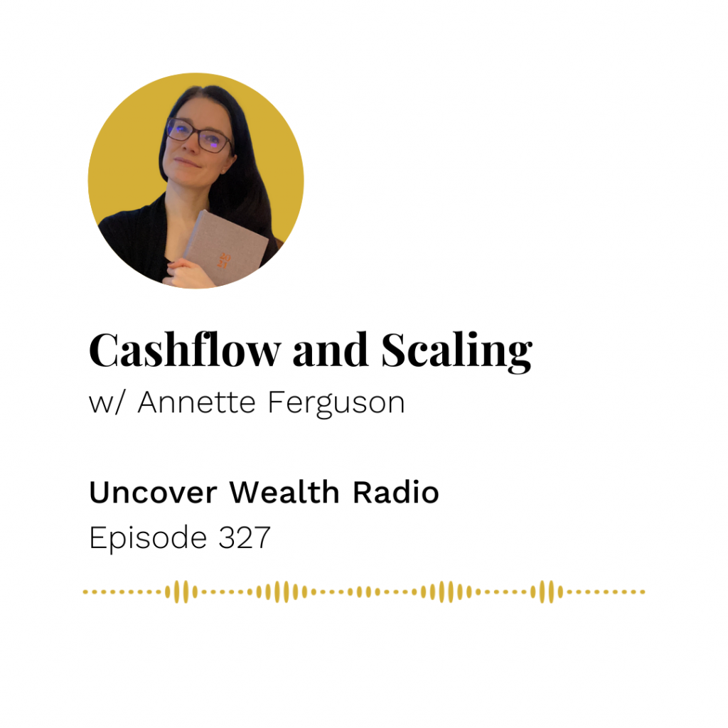 Annette Ferguson Podcast Banner - UWR 327