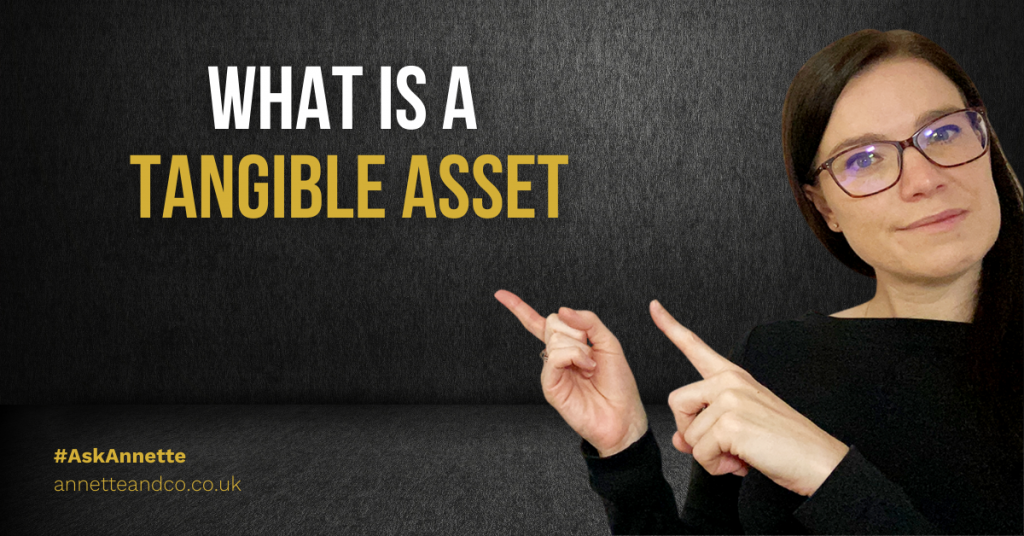 a blog featured image entitled what is tangible asset