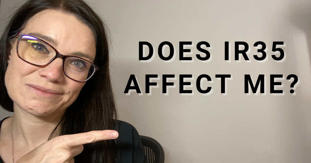 a blog featured image entitled does ir35 affect me?