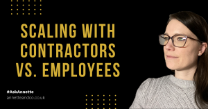 a blog featured image image entitled Should You Hire an Employee or a Contractor? Here Are the Things You Need to Look Into