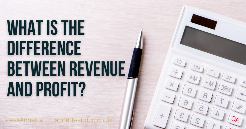a blog featured image entitled What is the Difference Between Revenue and Profit?