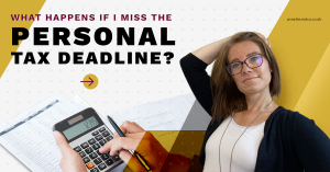 a blog featured image with a topic title about What Happens if I Miss the Corporation Tax Deadline?