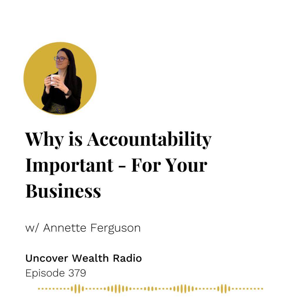 Annette Ferguson Podcast Banner - UWR 379