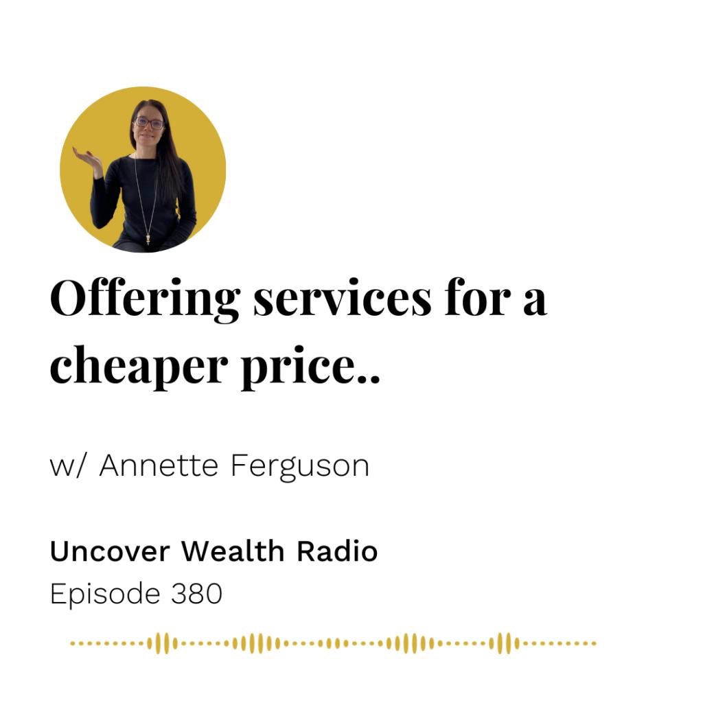 Annette Ferguson Podcast Banner - UWR 380