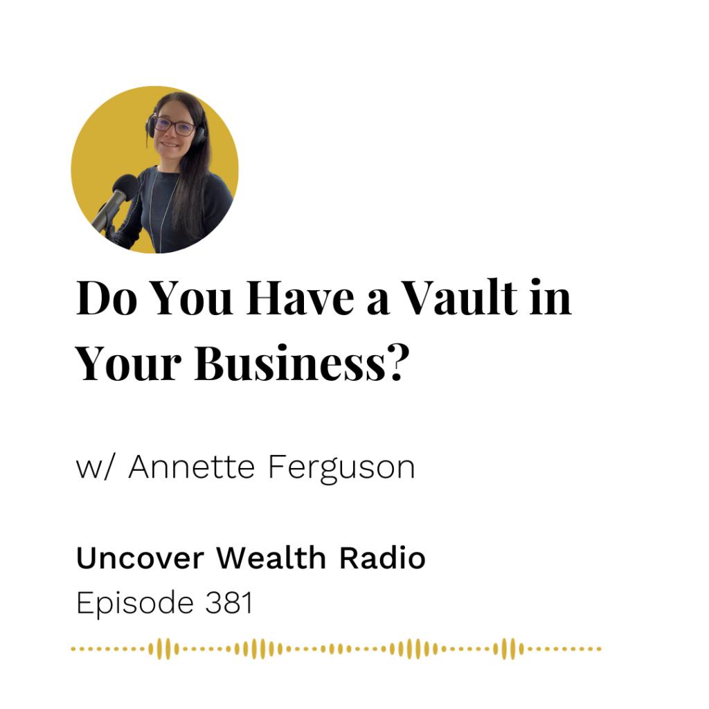 Annette Ferguson Podcast Banner - UWR 381